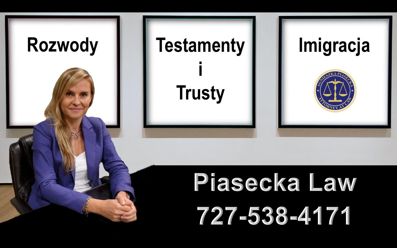 Rozwody, Testamenty i Trusty, Imigracja Attorney Agnieszka Aga Piasecka Law
